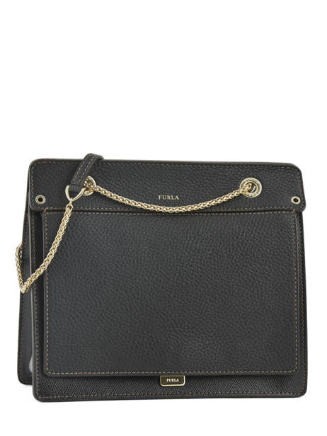 Shoulder Bag Like Leather Furla Black like LIK-BQA2