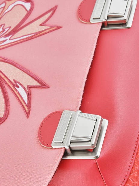 Satchel Jeune premier Pink canvas ITD18 other view 1