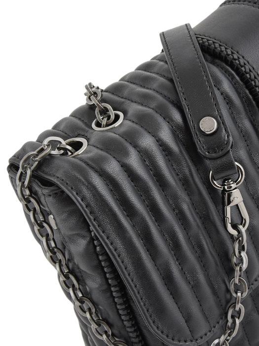 Longchamp Amazone matelassÉ Besaces Noir