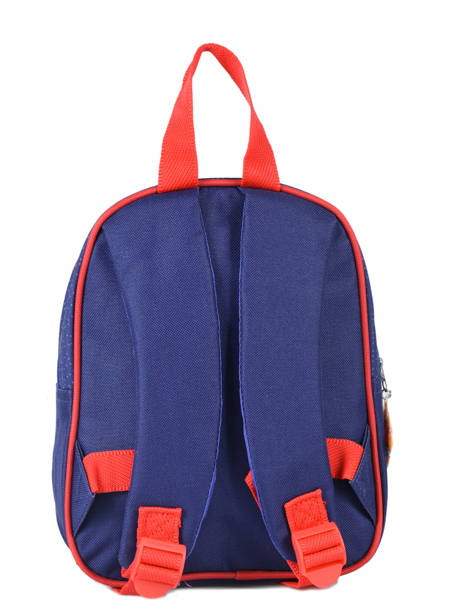 Backpack Mini Sam le pompier Blue brave 64360BRV other view 2