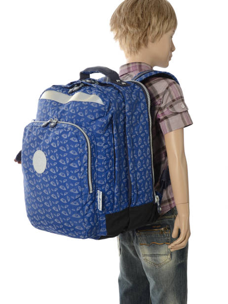 Backpack 2 Compartments + 15'' Pc Kipling Blue back to school capsule 408 other view 3