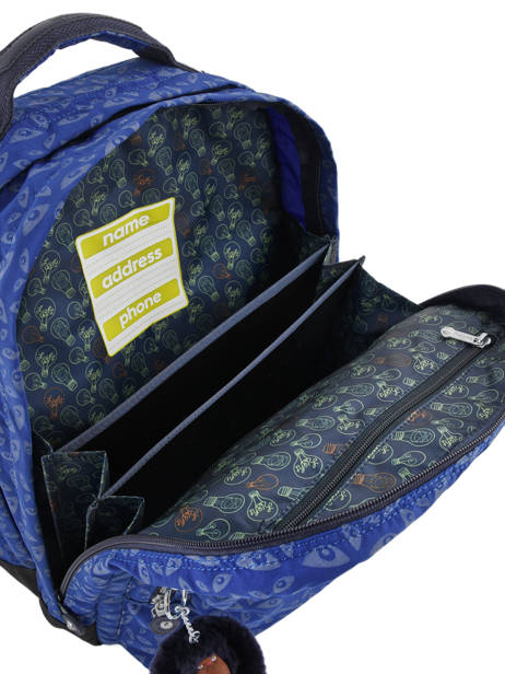 Backpack 2 Compartments + 15'' Pc Kipling Blue back to school capsule 408 other view 6