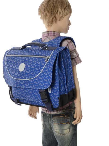 Cartable 2 Compartiments Kipling Bleu back to school capsule 778 vue secondaire 4
