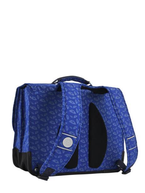 Cartable 2 Compartiments Kipling Bleu back to school capsule 778 vue secondaire 5