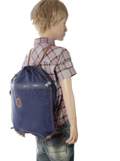 Sac De Sport Kipling Bleu back to school 9487 vue secondaire 2