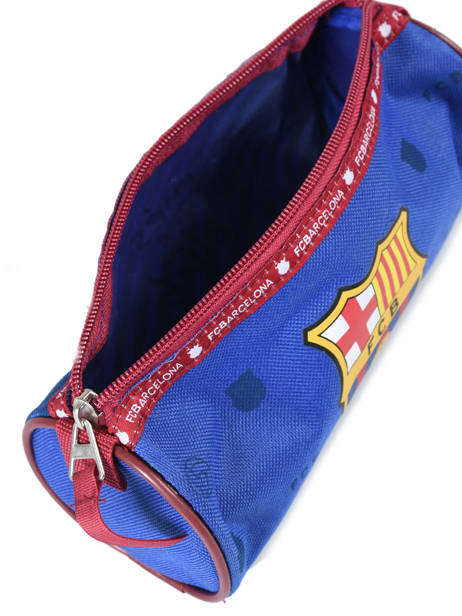Trousse 1 Compartiment Fc barcelone Bleu we are 490-8125 vue secondaire 3