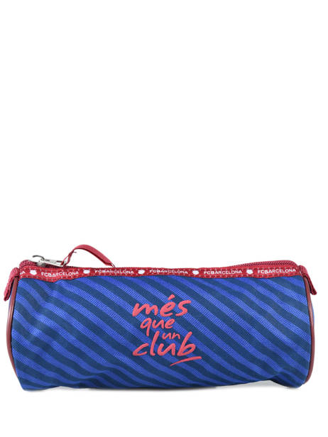 Trousse 1 Compartiment Fc barcelone Bleu we are 490-8125 vue secondaire 2