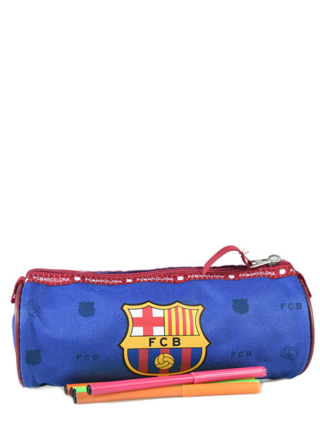 Trousse 1 Compartiment Fc barcelone Bleu we are 490-8125 vue secondaire 1