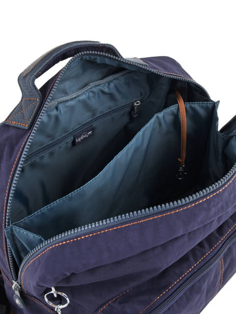 Satchel 2 Compartments Kipling Blue back to school 21092 other view 6