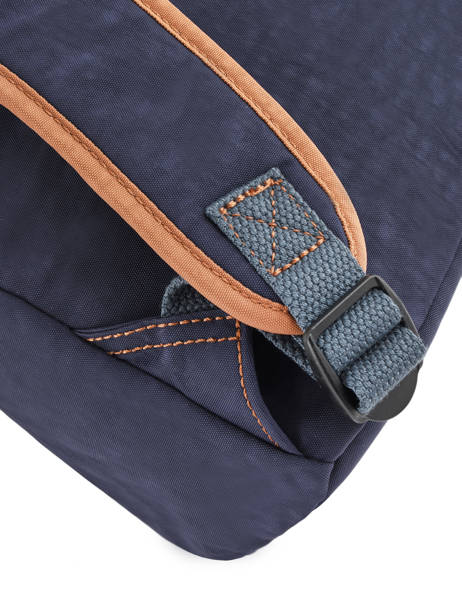 Satchel 2 Compartments Kipling Blue back to school 21092 other view 2