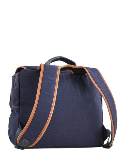 Satchel 2 Compartments Kipling Blue back to school 21092 other view 4