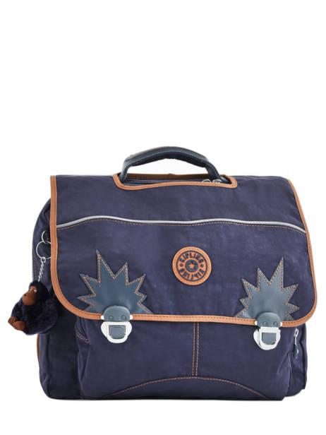 Satchel 2 Compartments Kipling Blue back to school 21092