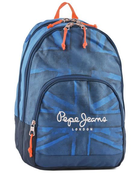 Sac à Dos 2 Compartiments Pepe jeans Bleu fabio 60924