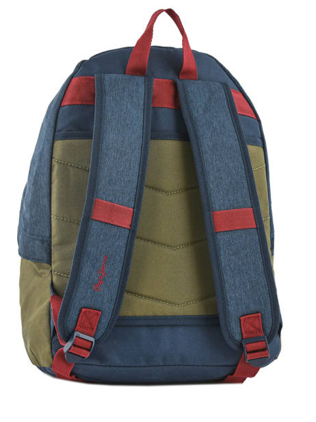 Backpack 1 Compartment Pepe jeans Multicolor trade 60423 other view 3