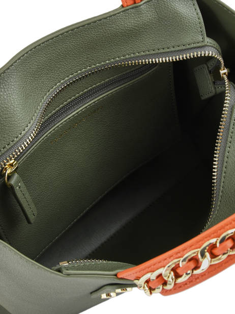 Sac Porté Main Th Chain Tommy hilfiger Vert th chain AW05462 vue secondaire 4