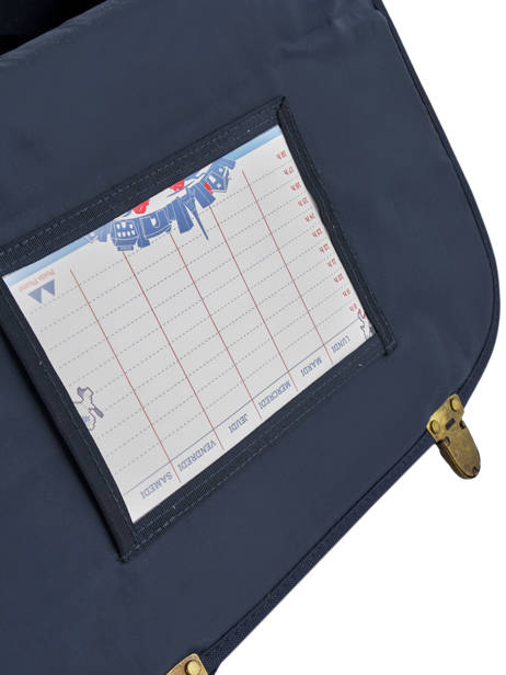 Cartable 2 Compartiments Poids plume Blue visibility 8PVI1741 other view 5