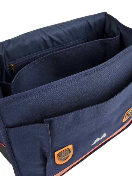 Cartable 2 Compartiments Poids plume Blue visibility 8PVI1741 other view 6