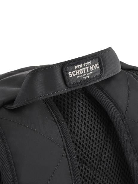Sac à Dos 1 Compartiment Schott Noir army 18-62701 vue secondaire 1