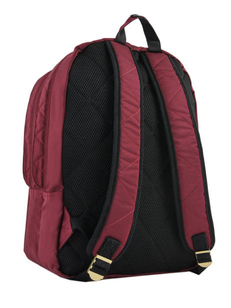 Backpack 2 Compartments Schott Red army 18-63704 other view 4