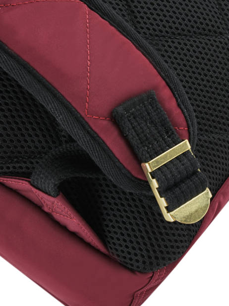 Backpack 2 Compartments Schott Red army 18-63704 other view 2