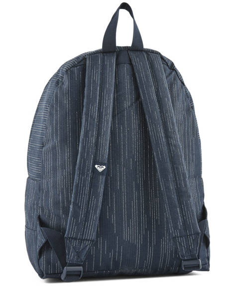 Backpack 1 Compartment Roxy Black back to school RJBP3730 other view 3