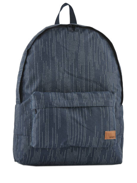 Backpack 1 Compartment Roxy Black back to school RJBP3730