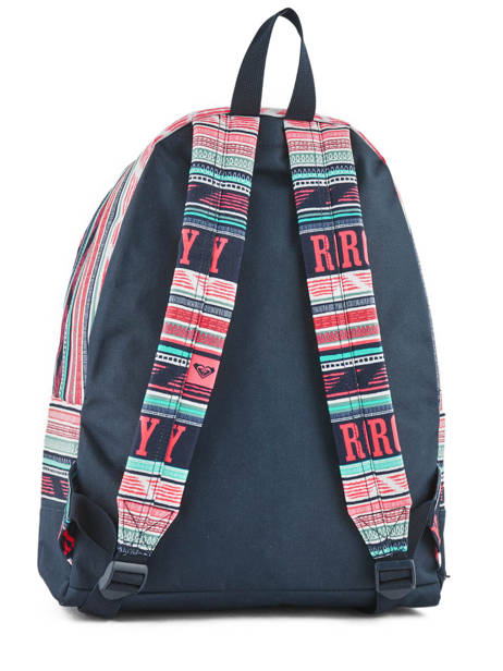 Backpack 1 Compartment Roxy Black back to school RJBP3728 other view 3