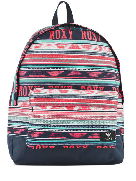 Backpack 1 Compartment Roxy Black back to school RJBP3728