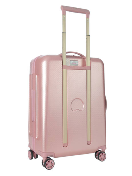 Cabin Luggage Delsey Pink turenne 1621803 other view 4