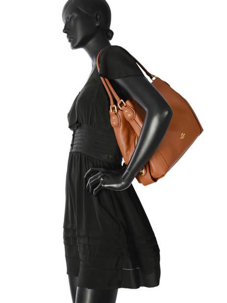 Sac Shopping Edie 31 Cuir Coach Marron edie 57125 vue secondaire 3