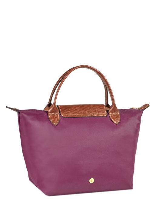 Longchamp Sacs porté main Violet