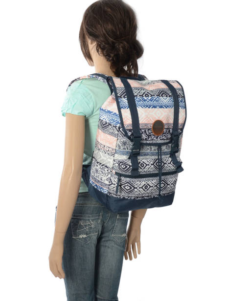 Sac à Dos 1 Compartiment + Pc 15'' Rip curl Bleu hight desert LBPGQ1 vue secondaire 3