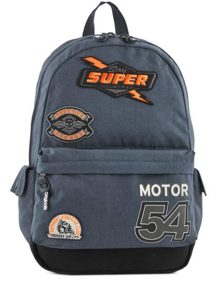 Sac à Dos 1 Compartiment Superdry Bleu backpack men M91011NQ