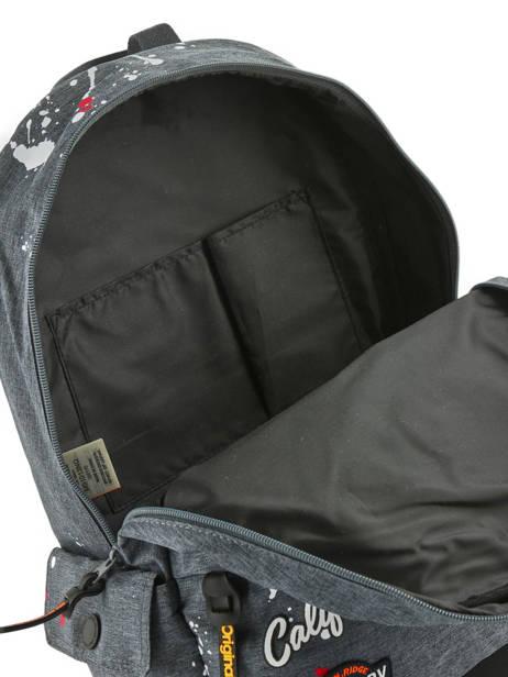 Sac A Dos 1 Compartiment Superdry Gris backpack men M91013NQ vue secondaire 4