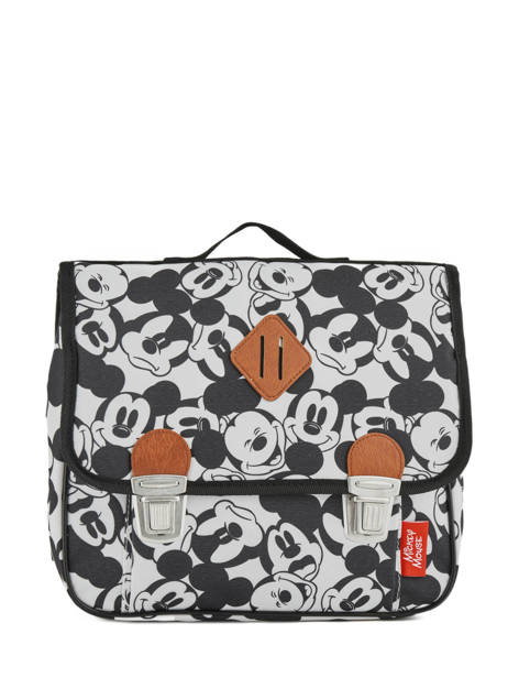 Cartable 1 Compartiment Mickey and minnie mouse Blanc fashion 88-8879
