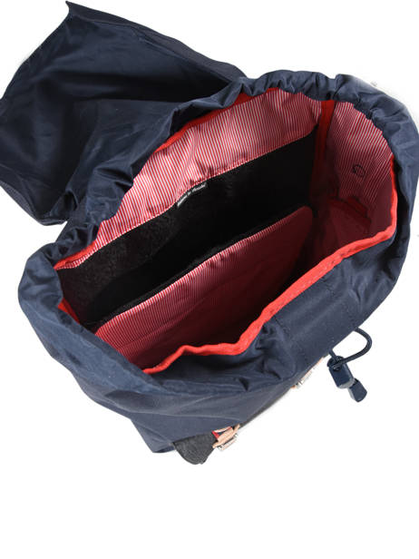 Backpack 1 Compartment Herschel Black offset 10014-O other view 4