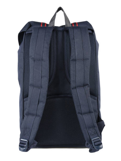 Backpack 1 Compartment Herschel Black offset 10014-O other view 3