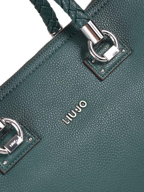Borsa Liu Jo Bauletto Manhattan Saffiano N68097 Bag S Rosso