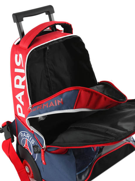 Wheeled Backpack 2 Compartments Paris st germain Multicolor ici c'est paris 173P204R other view 5