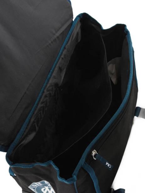 Wheeled Schoolbag 2 Compartments Olympique de marseille Blue droit au but 183O203R other view 5