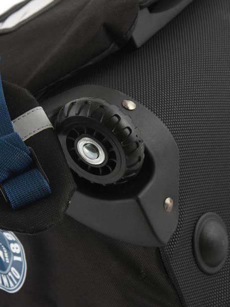 Wheeled Schoolbag 2 Compartments Olympique de marseille Blue droit au but 183O203R other view 2