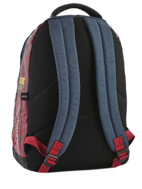 Backpack 2 Compartments Fc barcelone Blue barca 183F204S other view 3