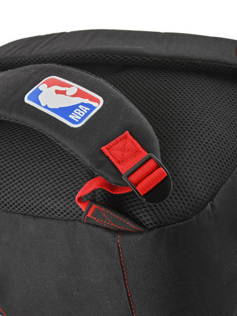 Backpack 2 Compartments Nba Black basket 183N204D other view 1