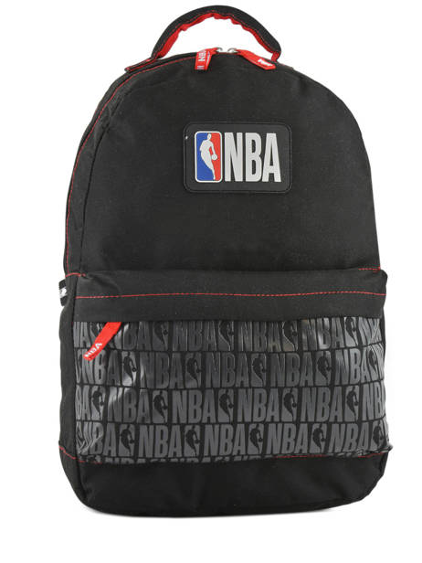 Backpack 2 Compartments Nba Black basket 183N204D
