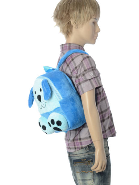 Backpack Mini Animal Blue kids KIDNI02 other view 1