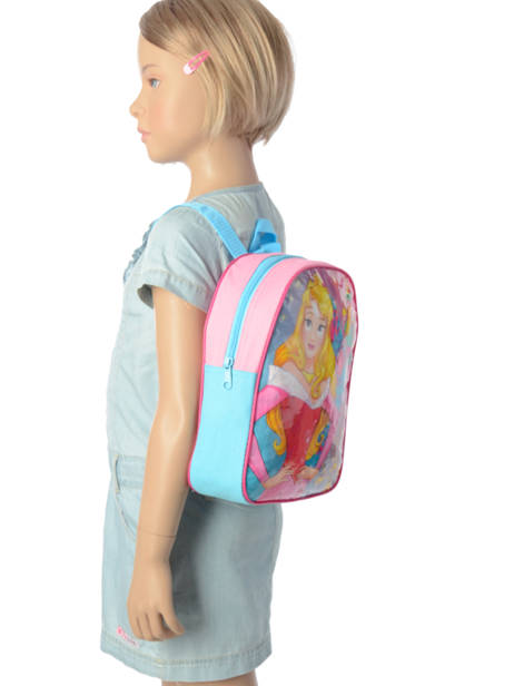Sac à Dos Mini Disney Rose princess AST4091 vue secondaire 1