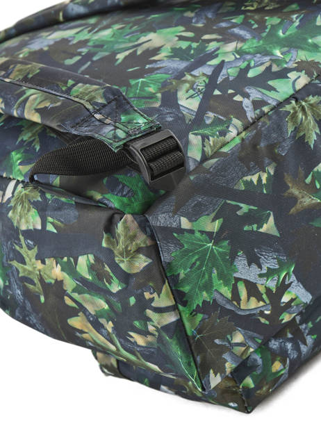 Backpack 1 Compartment Miniprix Green basic L07917 other view 1