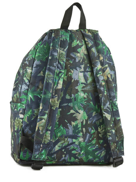 Backpack 1 Compartment Miniprix Green basic L07917 other view 3