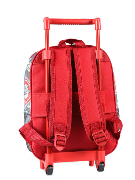 Wheeled Backpack Avengers Red basic AST4671 other view 2