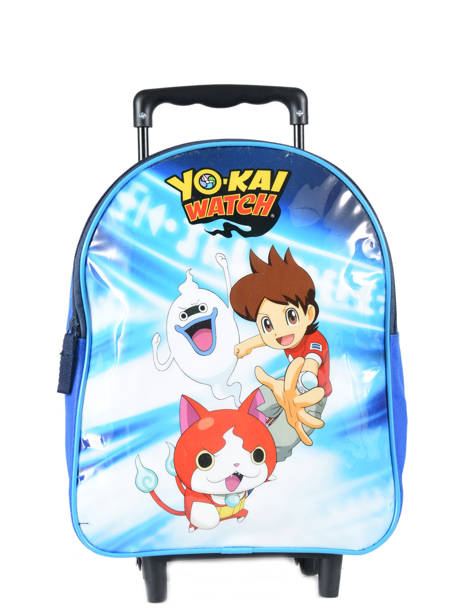Wheeled Backpack 1 Compartment Yokai watch Blue attack YOKEI04